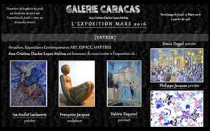 Retrouvez dans notre galerie les expositions de peintres, sculpteurs, plasticiens et photographes.