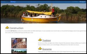 Découvrez le Bassin d'Arcachon à bord de «La silencieuse» bateau à propulsion électrique et voile. Écoutez battre le cœur du bassin !