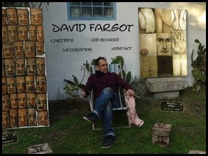 Tout l'univers de l'artiste peintre David Fargot. Découvrez la visite virtuelle.